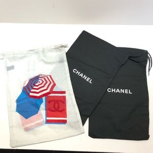 Chanel - lot of 3 dust bags